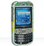 Palm Treo 800w Crystal Case Green Circle