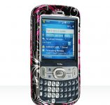 Palm Treo 800w Crystal Case Pink Butterfly