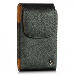 Premium INF Vertical Black/Brown Pouch